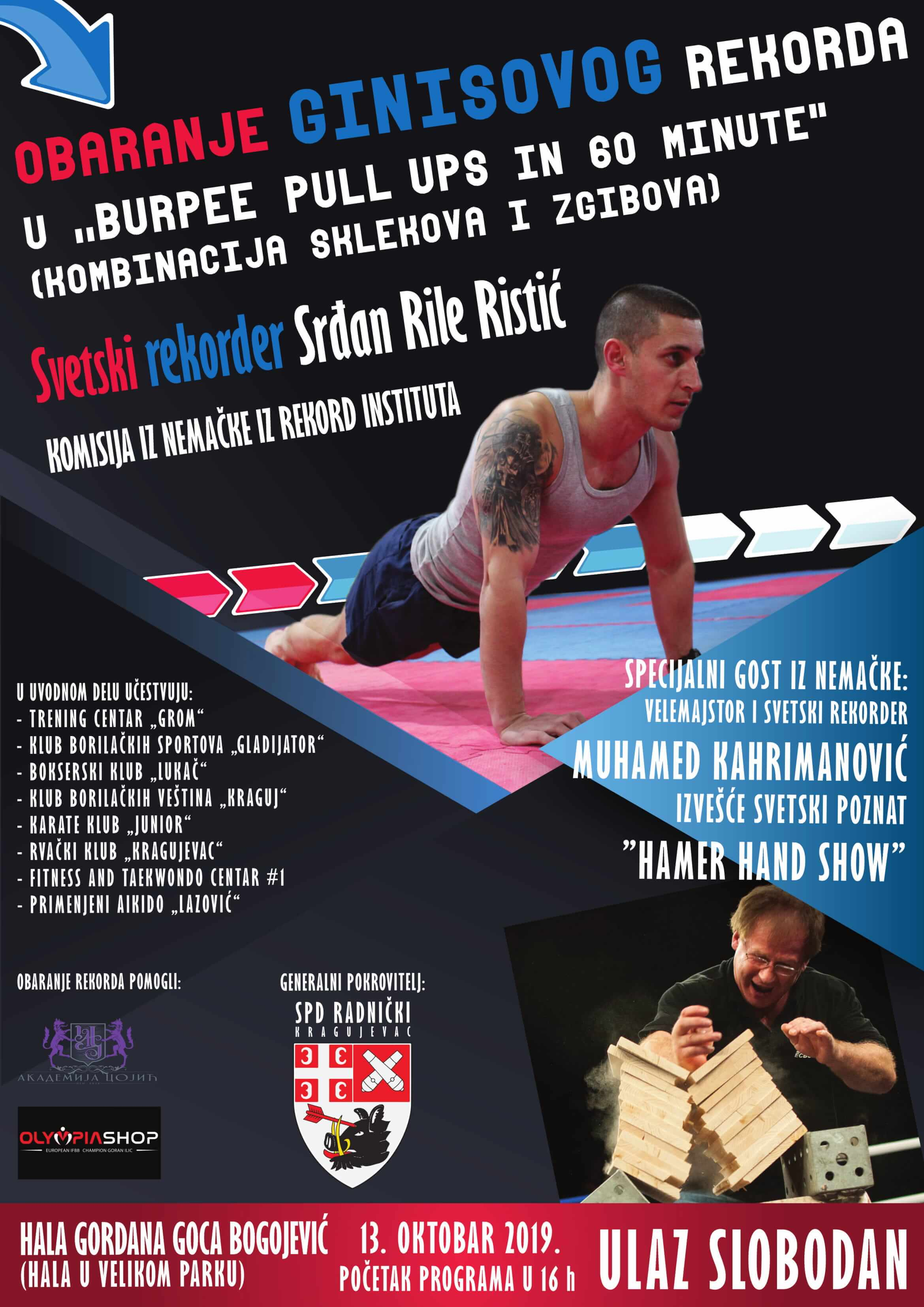 You are currently viewing Srđan Rile Ristić u pohodu na novi Ginisov rekord